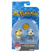 Pokémon Action Pose Figure, Pancham vs Meowth