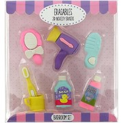 Erasables - 3d Eraser set -  6 packs to choose from