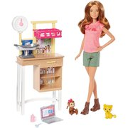 Barbie Careers Zookeeper vet Doll and Playset