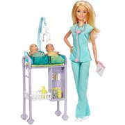 Barbie Medical Careers Pediatrician Baby Doctor Doll & Playset