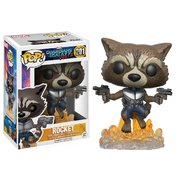 Funko Pop! Guardians of the Galaxy: Vol 2 - Flying Rocket #201 Vinyl Figure