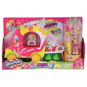 Shopkins Shoppies Groovy Smoothie Truck Combo with Pineapple Lily Doll