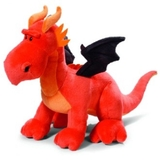 Nici Dragon Blood Orange Standing Medium 40 cm