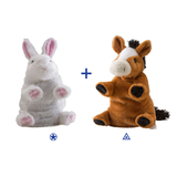 Wild Republic Switch A Rooz Plush - Horse Bunny Lucky & Charm