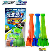 ZURU Bunch O Balloons 3 Pack Foil = total 100 water balloons