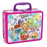 Shopkins Tin Lunchbox with Puzzle Exclusive Characters Scene