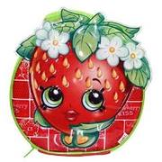 Zak Shopkins Character Lunch Bag - Strawberry Kiss Or Donut