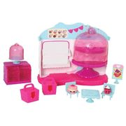 Shopkins S4 Food Fair Playset - Cupcake Queen Cafe - season 4