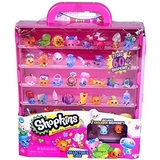 Shopkins S4 Season 4 Storage Collector's Case inudes 2 Exclusive Figures