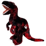 Jurassic World Plush Dinosuar 35 cm - Raptor Charlie Red