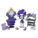 My Little Pony G4 Equestria Girls Minis Rarity Slumber Party Beauty Set