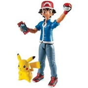 Tomy Pokemon Action Hero Figure D2 - Ash And Pikachu