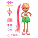 Betty Spaghetty Mix and Match Hula Zoey to Beach Zoey Doll 6.5""
