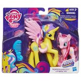 My Little Pony  G4 Gold Lily and Pinkie Pie Figures