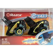 Razor Jetts Heel Wheels Skate Shoes Rollers - choose Green or Purple