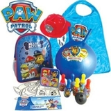 Paw Patrol Showbag, Backpack,, Lunch Box, Mask Set, Hopper Ball And Helmet.