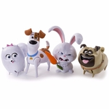 Secret Life of Pets - Walking Talking pets Figures - 4 to choose from