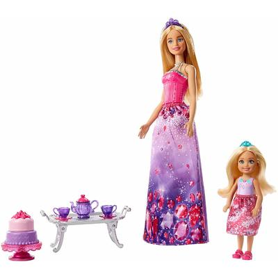 Barbie & Chelsea Dreamtopia Dolls and Tea Party Playset