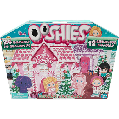 Ooshies 2018 Barbie Advent Calendar With 24 Figures