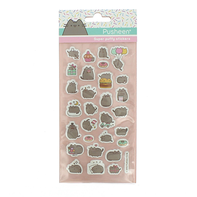 Pusheen Super Puffy Stickers